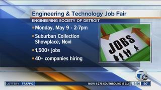 Engineering and Tech job fair May 9