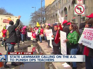 Lansing lawmaker wants DPS teachers punished