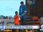 Stafford reveals other dream job: Tigers star