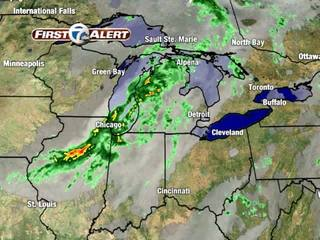 FORECAST: Rain with storm chances today