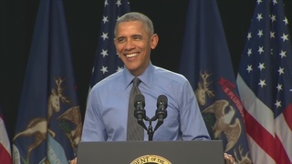 President Obama in Flint, speaks on water crisis