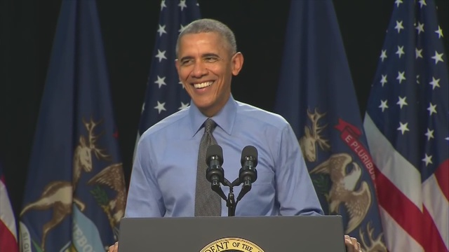 President Obama in Flint, speaks on water crisis