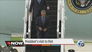 President Obama in Flint to address water crisis