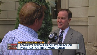AG responds to MSP's examination of water crisis