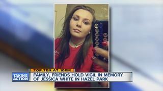 Vigil honors woman murdered in Hazel Park