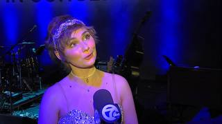Clare Bowen talks about singing in