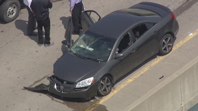 Man shot on WB I-94 at M-10; Freeway reopens
