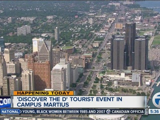 """Discover the D"" event at Campus Martius today!"