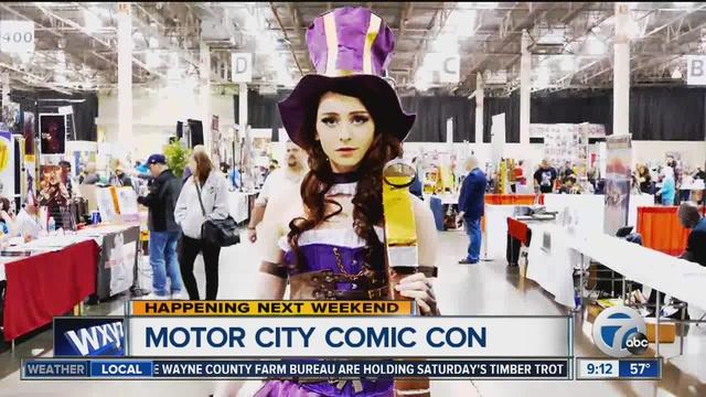 Motor City Comic Con 2016 To Be Held May 13 15 In Novi