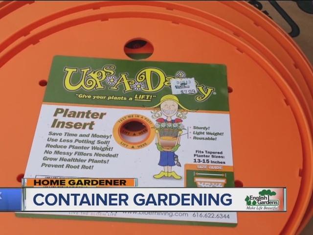 Home Gardener: Container Gardening