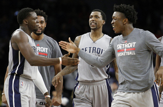 Report: Pistons' Johnson and KCP headed to Rio