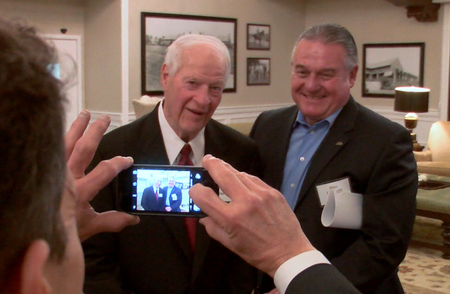 Spending A Day With Mr. Hockey And His Family As The Gordie Howe Initiative Is Launched (video)