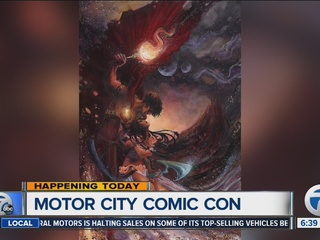 Motor City Comic Con Returns To The Suburban Collection