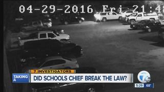 Lapeer schools chief broke law when fleeing