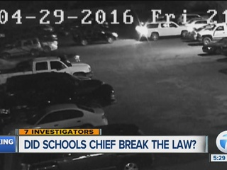 School board backs hit-and-run superintendent