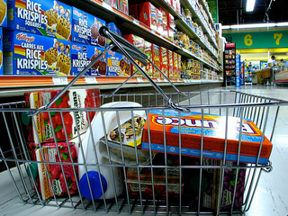Do some neighborhoods pay more for groceries?