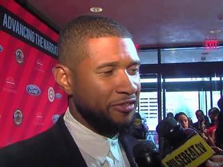 VIDEO: Usher in Detroit for Ford Freedom Awards