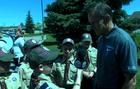 MSU's Dantonio helps St. Clair county Boy Scouts