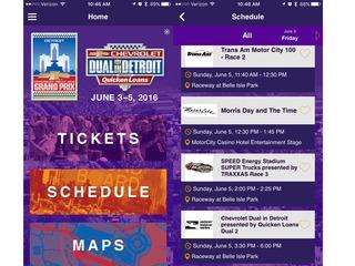 Detroit Grand Prix launches new mobile app