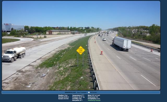 CAMERAS: Keep an eye on progress of I-275 project - WXYZ.com