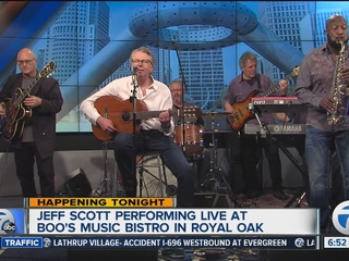 Jeff Scott & co. perform live at Broadcast House