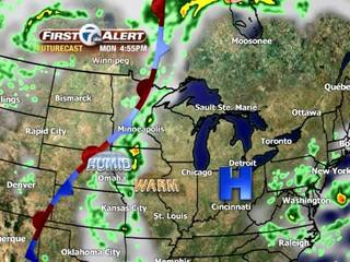FORECAST: Storm chances Wednesday
