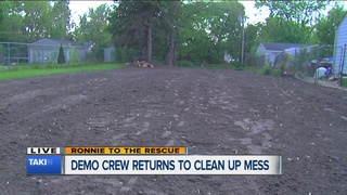 Contractor cleans up following WXYZ report