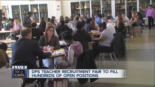 DPS expects to need up to 350 new teachers