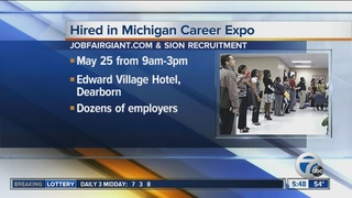 Dozens of employers will be at Dearborn job fair