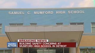 Sewage spill concerns at Mumford High