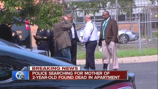 2-year-old found dead near Wayne State