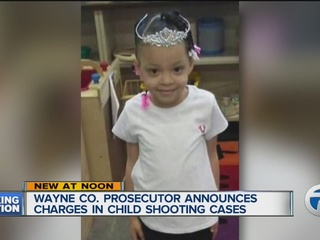 Charges announced in child shootings