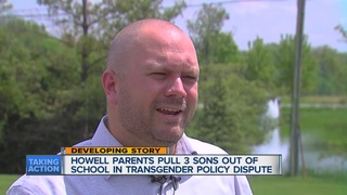 Kids pulled from school over transgender policy