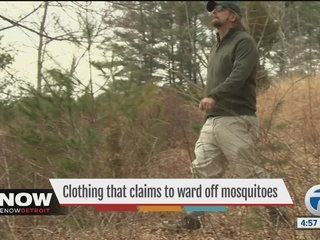 Clothing that claims to ward off mosquitoes