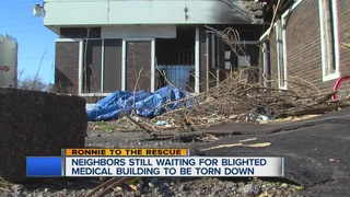 Blighted medical clinic keeps neighbors angry