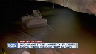 Local students escaped Kentucky cave flood