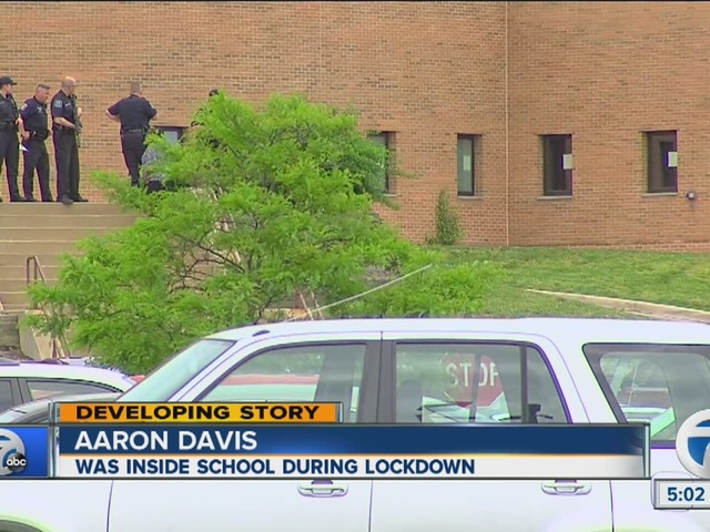Lockdown lifted at Ann Arbor Huron High School after reports of unknown…