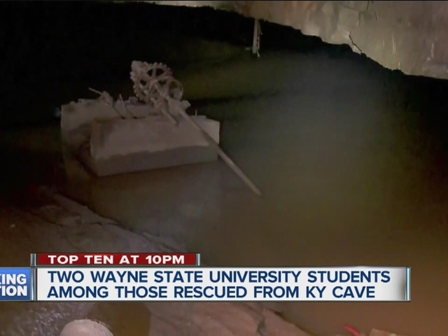Two Wayne State students among those rescued from cave