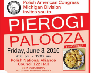 Pierogi Palooza fundraiser in Hamtramck June 3