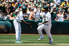 Bullpen dooms Tigers in lopsided loss to A's
