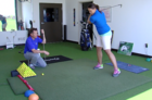 Kacie On The Course: Grip and Stance