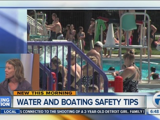 Water and boating safety tips