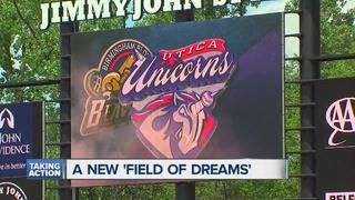 Opening Day at new Utica baseball stadium