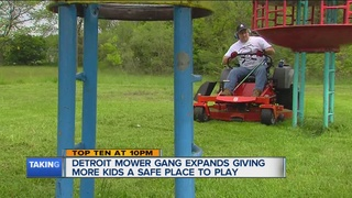 Detroit Mower Gang now taking on more than parks