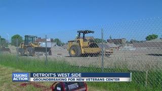Construction begins on new center for veterans