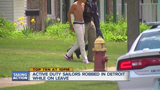 4 US sailors robbed in Detroit on Memorial Day