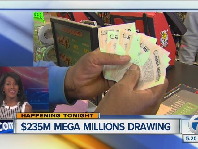 Mega Millions jackpot reaches $235 million