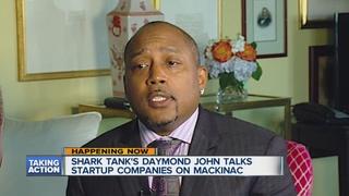 Shark Tank's Daymond John talks entrepreneurship