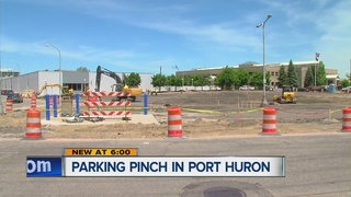 Port Huron businesses feel construction pinch