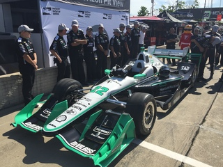 Pagenaud wins pole for Detroit Grand Prix race 1